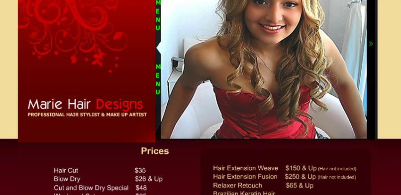MarieHairDesigns.com